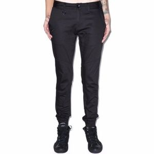 Publish Urban Outfitters mens black joggers pants